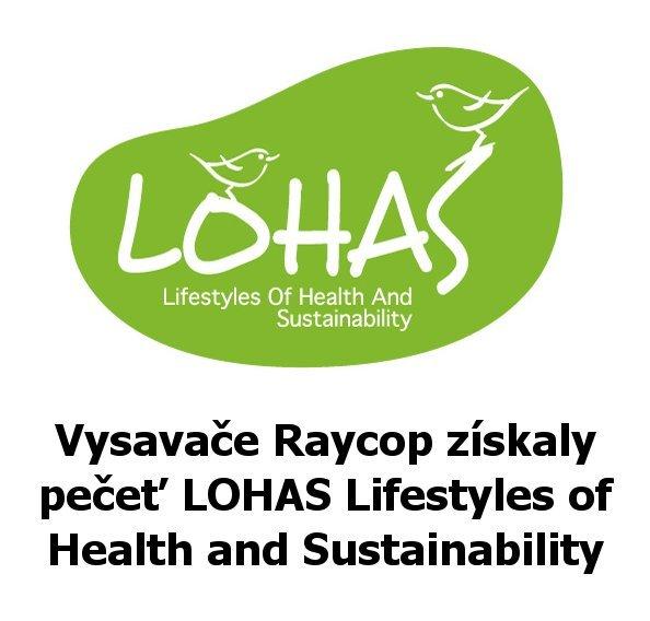 Pečeť LOHAS Lifestyles of Health and Sustainability